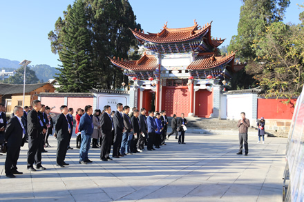 凤庆县人大常委会组织市县人大代表视察凤庆重大基础设施建设项目