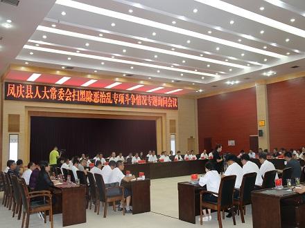 凤庆县人大常委会对全县扫黑除恶治乱专项斗争工作情况进行询问