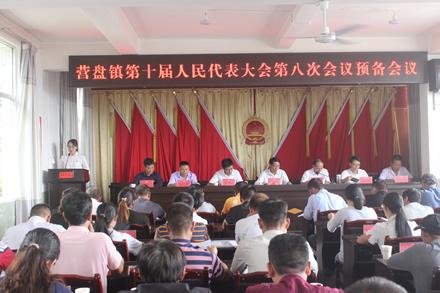 营盘镇召开第十届人民代表大会第八次会议